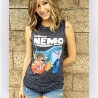 FINDING NEMO TANK- GREY