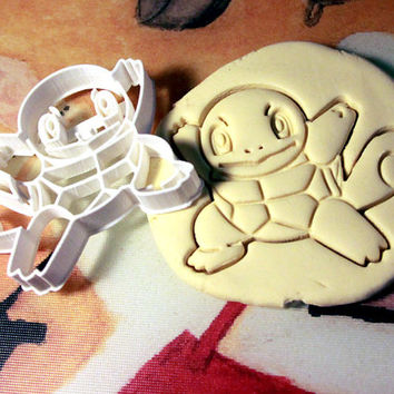 Squirtle Pokemon Cookie Cutter