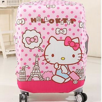 5d6cb6b26 1 Pcs Hello Kitty My Melody Twin Stars Stitch Luggage Dust-Proof Cover Travel  Luggage