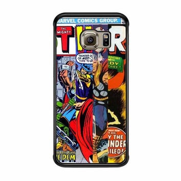 thor marvells comic cover samsung galaxy s6 s6 edge s3 s4 s5 cases