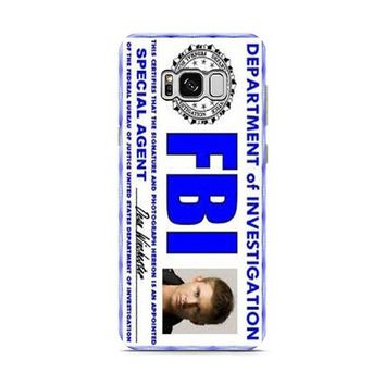 Dean Winchester FBI Supernatural Samsung Galaxy S8 | Galaxy S8 Plus case