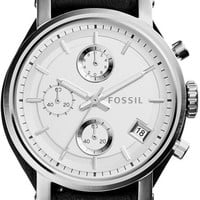 Women's Fossil Original Boyfriend Chronograph Watch ES3817