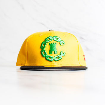 New Era x Crooks & Castles 59 Fifty - 'Yellow/Black'