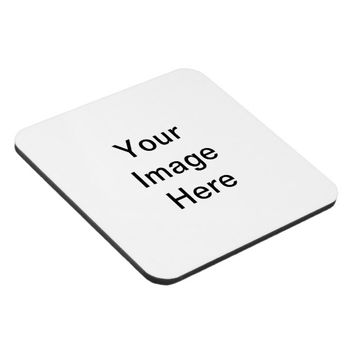 Design Your Own Custom Photo Hard Plastic Coaster