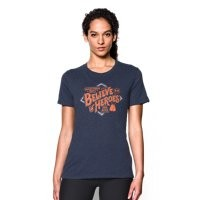 Under Armour Women's UA WWP Believe In Heroes Short Sleeve