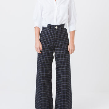 Windowpane Sailor Pant
