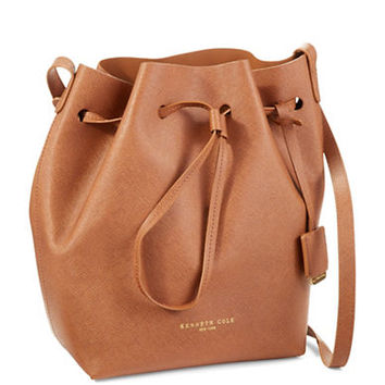 Kenneth Cole New York Dover Street Drawstring Bucket Bag