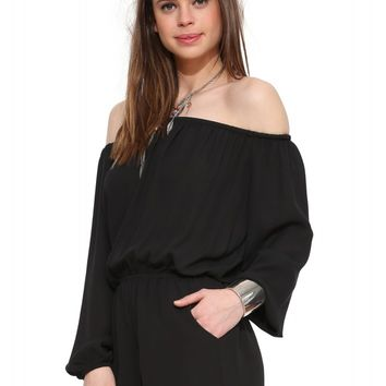 Eight Sixty Off The Shoulder Romper