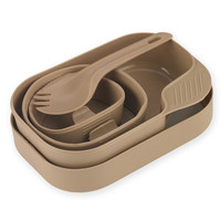 Wildo 21328 Camp-A Box - Eating Utensils Kit - Tan