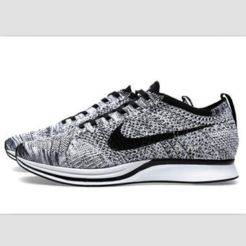 """NIKE"" Net surface breathable sneaker soft-soled running casual shoes Grey"