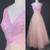 ES50676 Elegant Luxury Backless Deep V Neck Girls Prom Gown Puffy Ball Gown, View Prom Gown, Chaozhou Choiyes Evening Dress Product Details from Chaozhou Choiyes Evening Dress Co., Ltd. on Alibaba.com