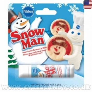 Pillsbury Cookie Dough Snowman Lip Balm