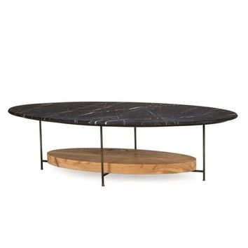 MADRID COFFEE TABLE - BLACK MARBLE