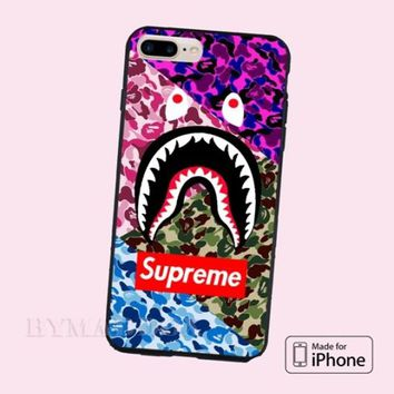 Best New Hot Supreme Bape Trip Camo CASE Cover for iPhone 6s/6s+/7/7+/8/8+, X