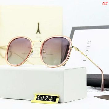 GUCCI Fashion New Polarized Sun Protection Women Men Eyeglasses Glasses  4#
