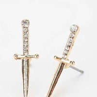 Sword Earring- Gold One