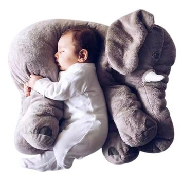 Extra Soft Elephant Pillow