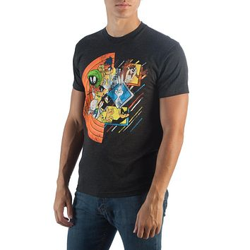 Looney Tunes Looney Circle Group T-Shirt