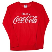 Coca-Cola Graphic Sweater Red M : Target