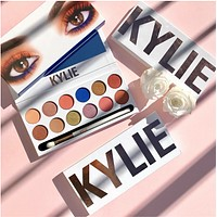Kylie Kelly 12 color eye shadow For Women Girl