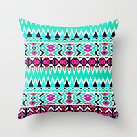 Mix #567 Throw Pillow by Ornaart