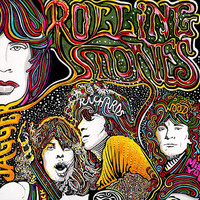 The Rolling Stones Color Art Print by Posterography