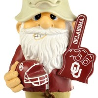 """Oklahoma Sooners Garden Gnome 11"""" Thematic  Second String"""