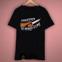 Thrasher Scarred For Life T Shirt – Mpcteehouse.com
