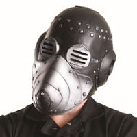 Slipknot Men's Sid Mask With Removable Face Plate Slipknot Mask Multi