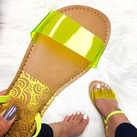 New sexy mosaics for women's flats and slippers