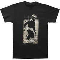 Bob Marley Men's  Soccer Slim Fit T-shirt Black