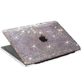 Custom Laptop Case Made with 100 Percent Genuine Swarovski Elements