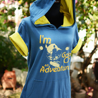 """""""I'm going on an adventure"""" t shirt hoodie"""