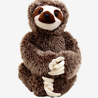 Destination Nation Sloth Plush