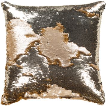 Sequin 18 x 18 Decorative Pillow