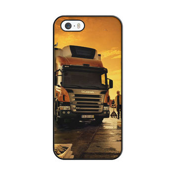 Afternoon Scania Logo Blue iPhone 5|5S Case