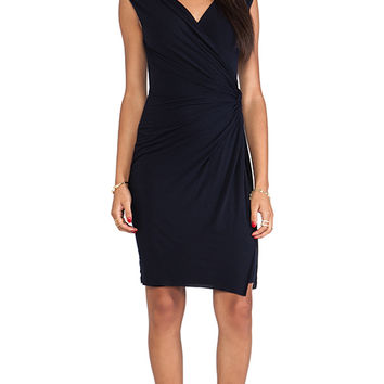 Bailey 44 Drop Kick Dress in Navy