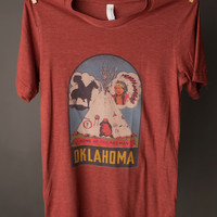 "Gina ""Home of the Redman Oklahoma"" Tee"