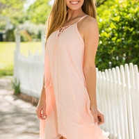 Quiet Of The Hour Dress, Blush