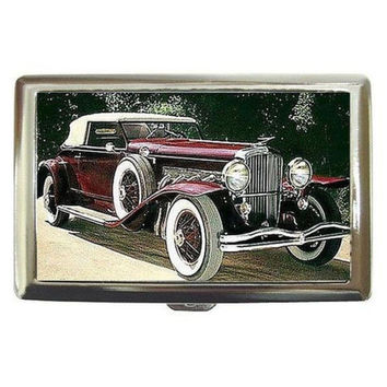 Vintage Car Cigarette Case/Money-Credit Card Holder