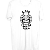 Sloth Running Team Men T Shirts