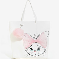 Loungefly Disney The Aristocats Marie Tulle Bow Tote - BoxLunch Exclusive