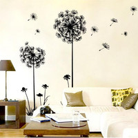 DIY Dandelion Wall Sticker Decal Mural - Home  Decor