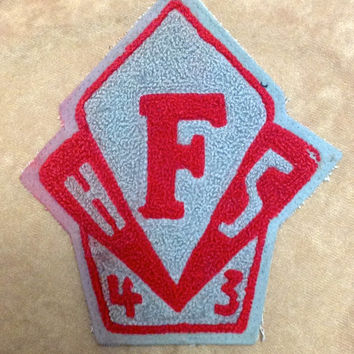 Vintage 1943 Fairview Park High School Letterman Jacket Patch Cleveland Ohio