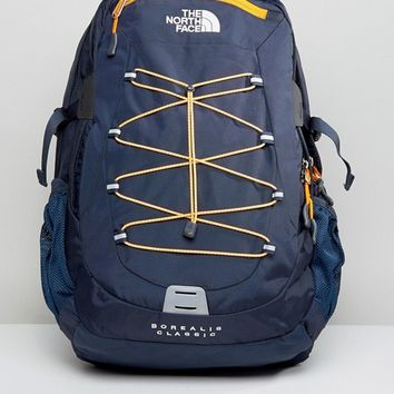 The North Face Borealis Backpack In Navy at asos.com
