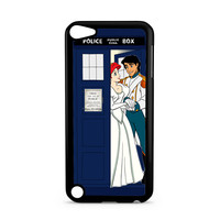 Ariel Mermaid and Eric Wedding in Tardis Dr Who iPod Touch 5   5th Gen case