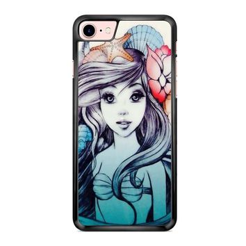 Ariel The Little Mermaid 1 iPhone 7 Case