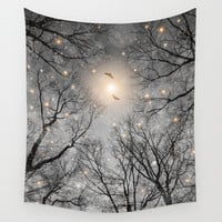Nature Blazes Before Your Eyes 2 (Ash Embers) Wall Tapestry by Soaring Anchor Designs