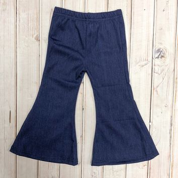 Children's Denim bell bottoms
