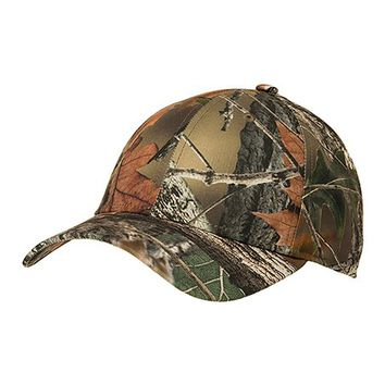 Trail Crest Green Camo Cap